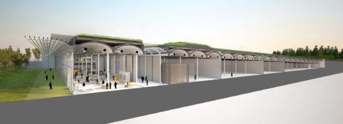 9.plan de coupe_centre de conservation du louvre à Liévin.jpg