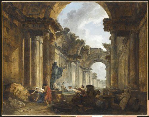 25. Vue imaginaire de la Grande Galerie en ruines.jpg