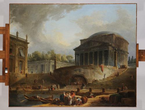8. La Panthéon avec le port de Ripetta.jpg