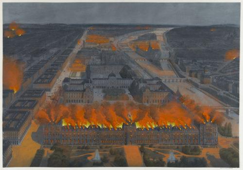 17_Anonyme, Incendie des Tuileries, le 24 mai 1871.jpg