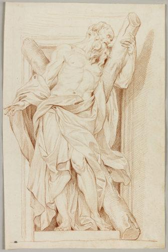 4_Edme Bouchardon, Saint André d'après Rusconi