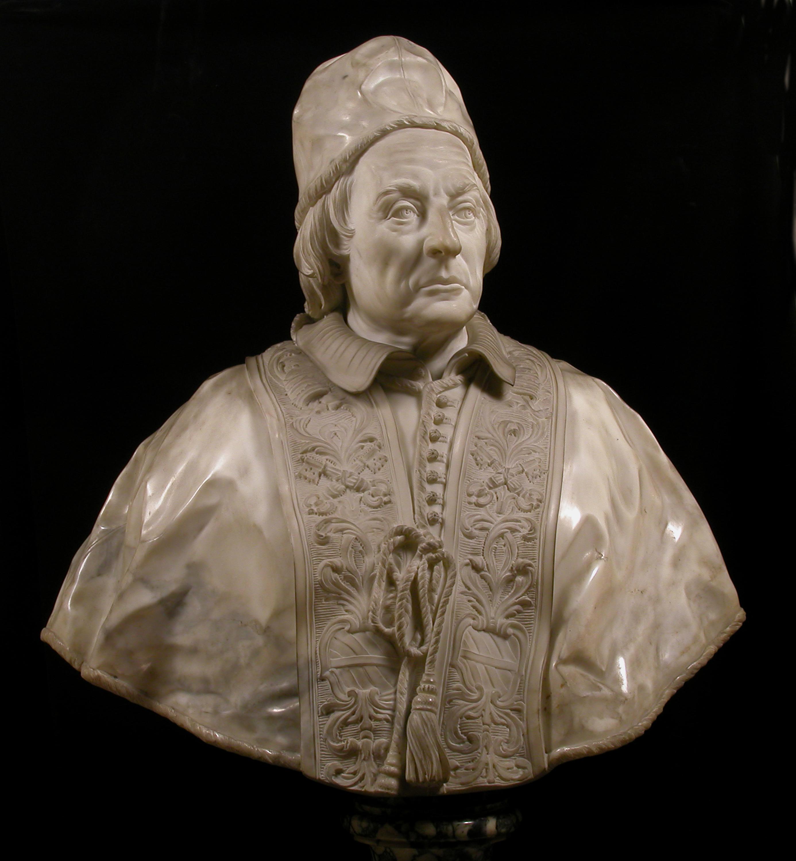 6_Edme Bouchardon, Le pape Clément XII