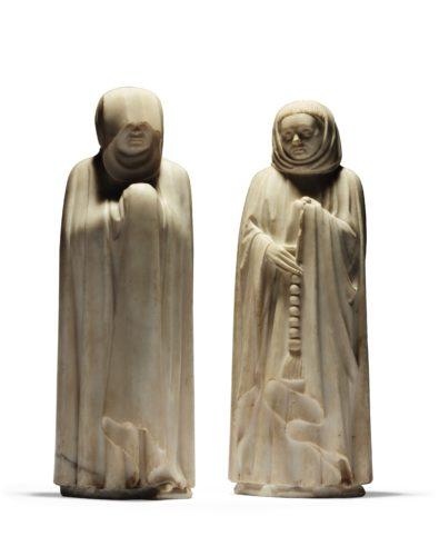 Acquisition.<i>Deux pleurants du tombeau du duc de Berry</i>. Musée du Louvre 2016 © Christie's Images.jpg