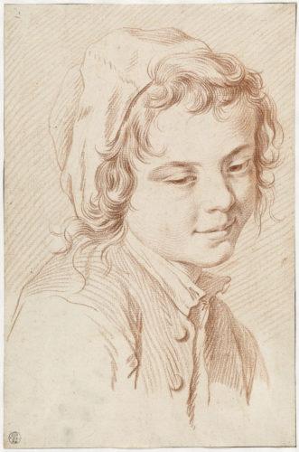 10_Edme Bouchardon, Tête de jeune garçon