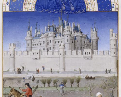 6_ Les frères Limbourg, détail des Très Riches Heures du duc de Berry. jpg