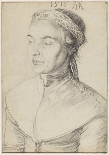 8_Albrecht Dürer_Portrait d'une jeune femme aux cheveux tressés_Nationalmuseum Stockholm (c) Cecilia Heisser_Nationalmuseum.jpg