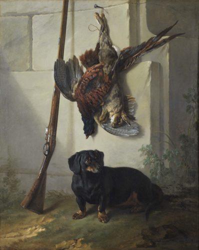 3_JB Oudry_Basset, gibier mort et fusil_Nationalmuseum Stockholm (c) Cecilia Heisser_Nationalmuseum.jpg