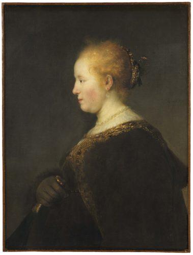 10_Rembrandt_Jeune femme de profil avec éventail_Nationalmuseum Stockholm (c) Cecilia Heisser_Nationalmuseum  - Copie.jpg