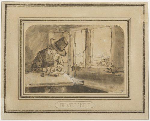 4. Rembrandt_Homme près d'une fenêtre(c)RMN-Grand Palais (musée du Louvre) / Tony Querrec.jpg