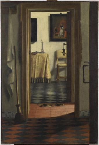 13. Van Hoogstraten_The Slippers(c)RMN-Grand Palais (musée du Louvre) / Tony Querrec.jpg