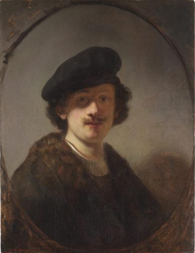 4_Rembrandt_Autoportrait au regard plongé dans l'ombre (c) New York_The Leiden Gallery.jpg