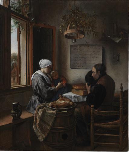 5_Jan Steen_Prayer before the Meal(c)New York_The Leiden Gallery.jpg