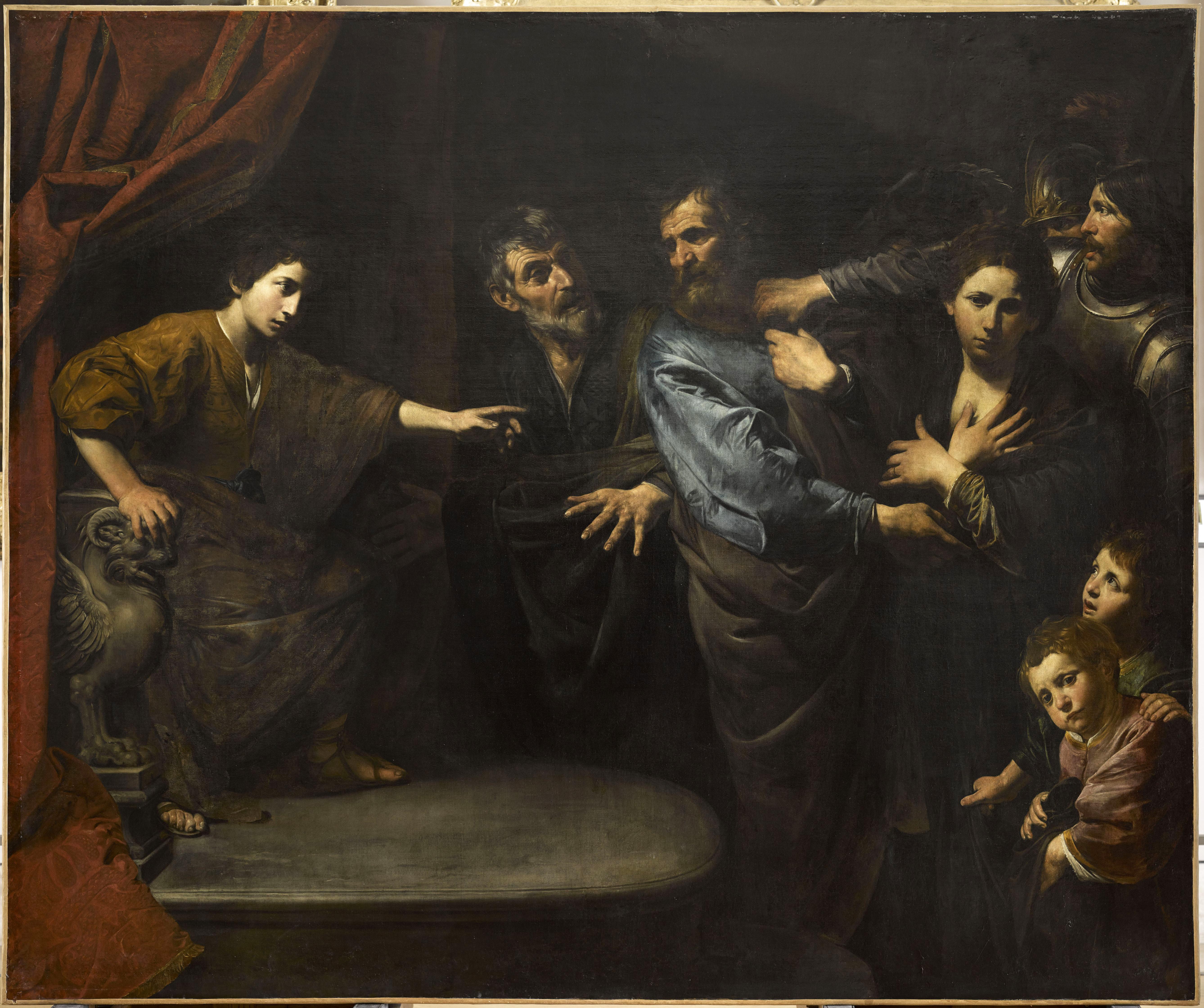 10_Valentin_Innocence Of Susanna __Département Des Peintures, Musée Du  Louvre © RMN GP_musée Du Louvre. Valentin De Boulogne ...
