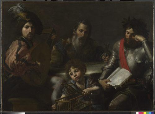 13. Valentin de Boulogne. Allegorie de lItalie © Alessandro Vasari.jpg