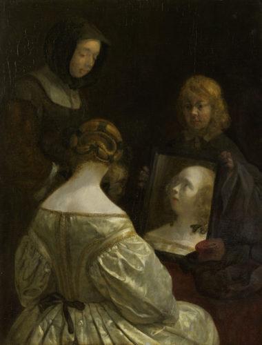 7. Ter Borch_Femme à son miroir(c)Amsterdam, The Rijksmuseum.jpg