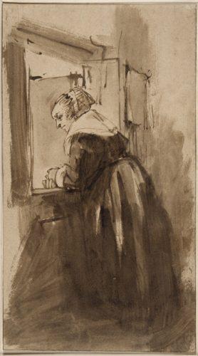 1. Rembrandt_Femme à la fenêtre(c)RMN-Grand Palais (musée du Louvre) / Gérard Blot.jpg