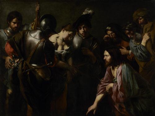 5. Valentin de Boulogne. Christ et la femme adultère. J. Paul Getty Museum, LA © J. Paul Getty Museum, Los Angeles.jpg