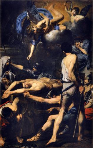 16. Valentin de Boulogne. Martyres des saints Procès et Martinien. Vatican Pinacoteca © Musées du Vatican, Cité du Vatican, Rome.jpg