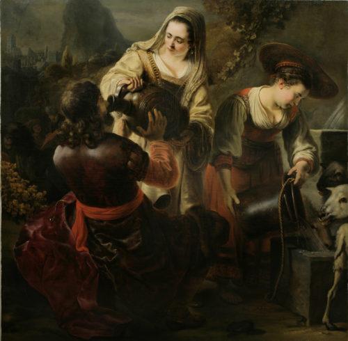 1_Ferdinand Bol_Eliezer et Rebecca au puits(c)The Leiden Collection, New York.jpg