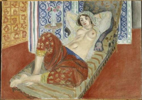 5_Henri Matisse_Odalisque à la culotte rouge (c) Succession H.Matisse pour l'oeuvre de l'artiste.jpg