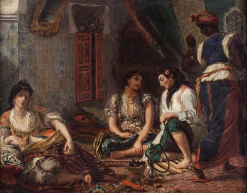 7_Henri Fantin Latour d'apres Eugene Delacroix_Femmes d'Alger (c) musée du Louvre, dist. RMN Grand Palais_Harry Brejat.jpg