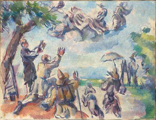4_Paul Cézanne_L'Apothéose de Delacroix (c) RMN Grand Palais_musée d'Orsay_Hervé Lewandowski.jpg
