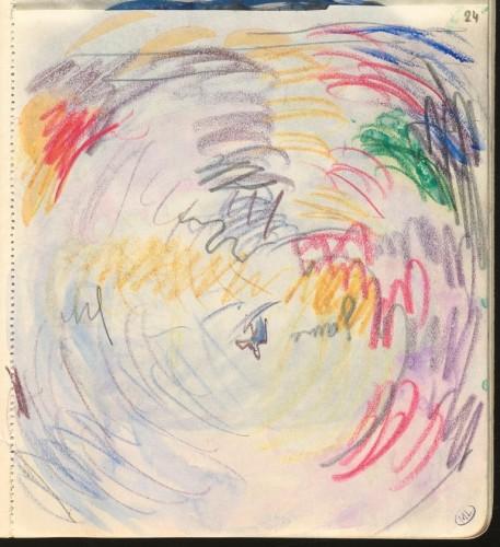 2_Paul Signac, Essai de couleurs circulaires (c) RMN-Grand Palais_musée d'Orsay / Herve Lewandowski