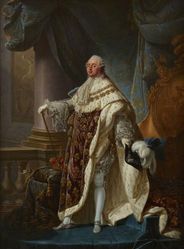 Antoine-François Callet, Louis XVI, 1779, oil on canvas, Musée du Château de Versailles © RMN-Grand Palais (Château de Versailles) / Gérard Blot