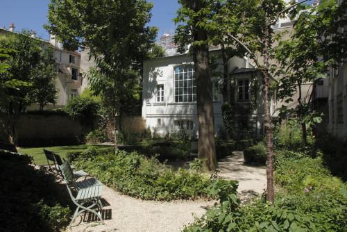 Jardin du musée national Eugène-Delacroix (c) 2016 musée du Louvre Antoine Mongodin