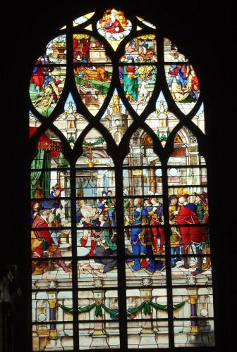 3_Noël Bellemare, La Sagesse de Salomon, Paris, Eglise Saint Gervais-Saint Protais © Cécile Scailliérez.jpg