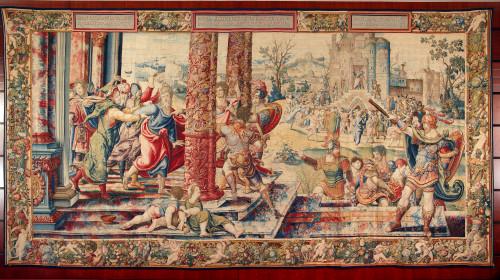 17_Wilhelm de Pannemaker sur les dessins de Pieter Coecke van Aelst, l'Arrestation de saint Paul, KBC Bank, Louvain © KBC Collection Rockox House, Antwerp.jpg