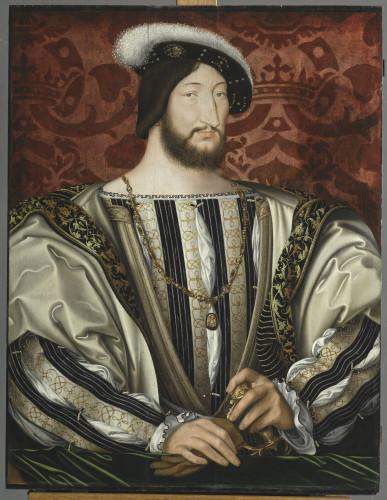 8_Jean Clouet, François Ier, roi de France, département des peintures, musée du Louvre © RMN - Grand Palais  (Musée du Louvre)_Michel Urtado.jpg