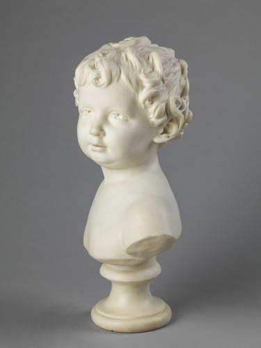 2_Jean Antoine Houdon, Buste en marbre d'Anne Ange Houdon