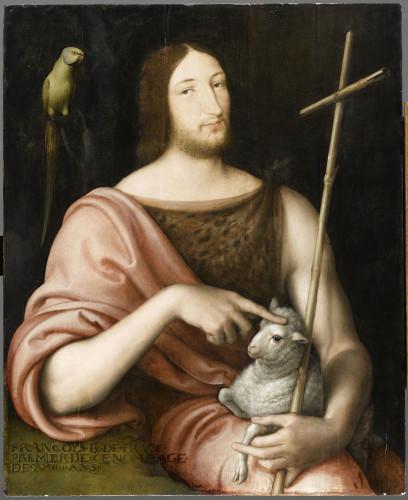12_Jean Clouet_Portrait de François Ier en saint Jean Baptiste © RMN-Grand Palais (musée du Louvre)_René-Gabriel Ojéda.jpg