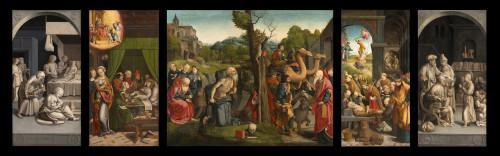 16_Grégoire Guérard, Triptyque de Saint Jérôme, musée de Brou, Bourg-en-Bresse © Carine Monfray