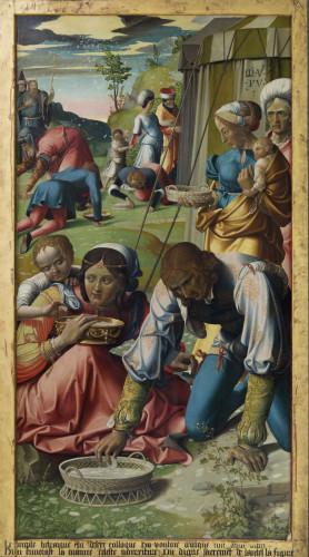 19_Grégoire Guérard, Retable de l'Eucharistie, Autun, Musée Rolin © Françoise Auger Feige