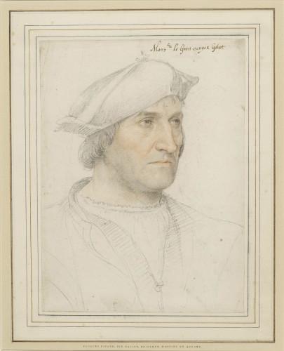 10_Jean Clouet, Portrait de Jacques Ricard, nommé Galiot, Seigneur d'Assier en Quercy, Londres, the British Museum © The Trustees of the Bristish Museum