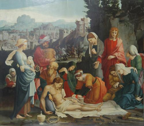 21_Grégoire Guérard, Saint-Quentin, la Déploration du Christ, Lille, DRAC, Hauts-de-France © Musée du Louvre / Antoine Mongodin