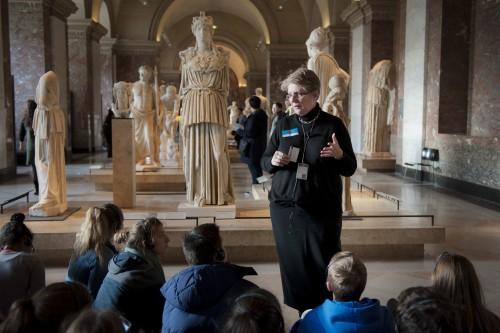 Visite « Dieux et héros » © 2016 musée du Louvre / Florence Brochoire