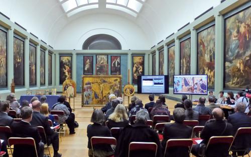 Journée d'étude du département des Peintures consacrées à Jean Malouel, novembre 2014 © 2014 musée du Louvre/ Dimitri Salmon