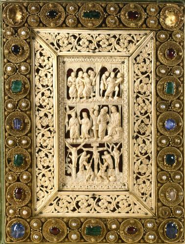 1_Évangiles de Drogon © Bibliothèque nationale de France