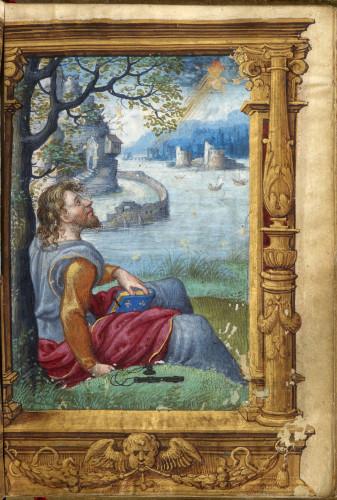 11_Livre dheures de Francois Ier page du manuscrit  S-J Philips-jpg