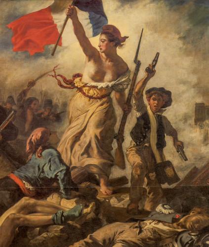 Eugène Delacroix, La Liberté guidant le peuple (28 juillet 1830) © musée du Louvre, dist. RMN / Angèle Dequier