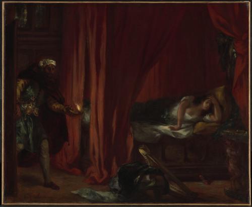 20_Eugène Delacroix, Othello et Desdémone-jpg