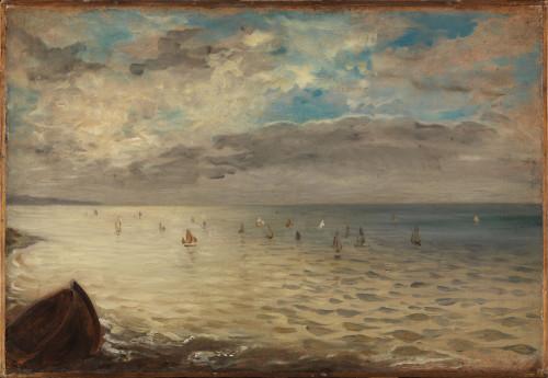 21_Eugène Delacroix, La Mer vue des hauteurs de Dieppe dit aussi La Mer à Dieppe-jpg