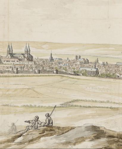 Israël Silvestre, View of Verdun © RMN-Grand Palais (musée du Louvre) / Michel Urtado