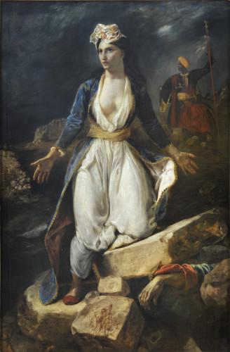11_Eugène Delacroix, La Grèce sur les ruines de Missolonghi-jpg