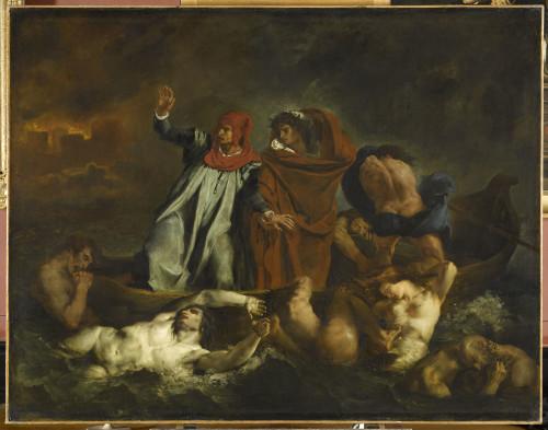 2_Eugène Delacroix, Dante et Virgile aux Enfers-jpg