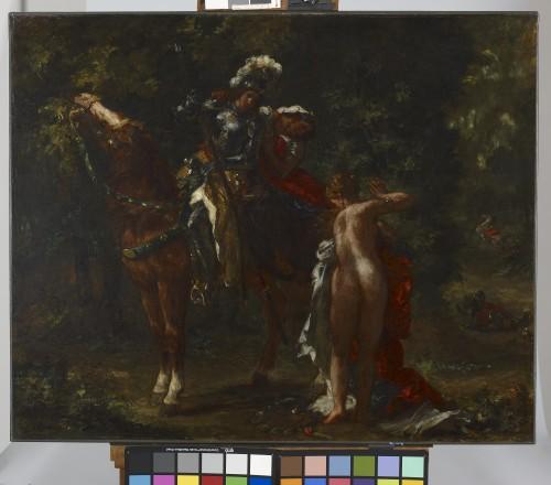 23_Eugène Delacroix, Marphise et la maîtresse de Pinabello-tif