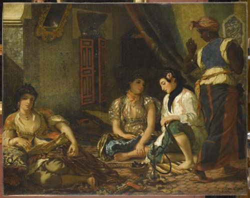 15_Eugène Delacroix, Femmes d'Alger dans leur appartement-jpg
